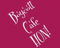 BoycottCafeHon