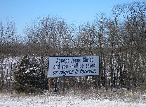 Jesus regret
